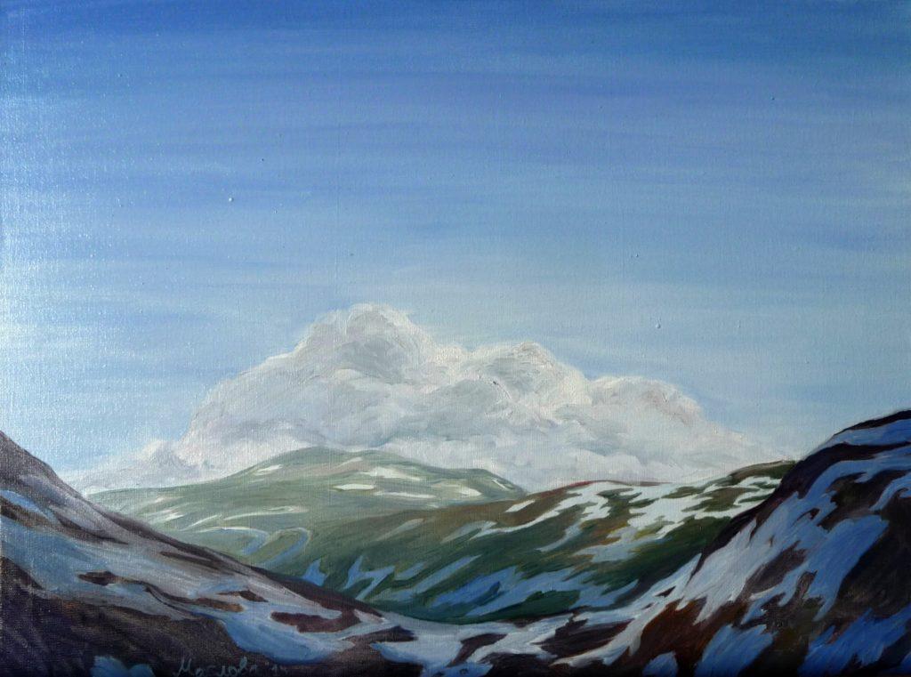 Скандинавія. Голубі гори