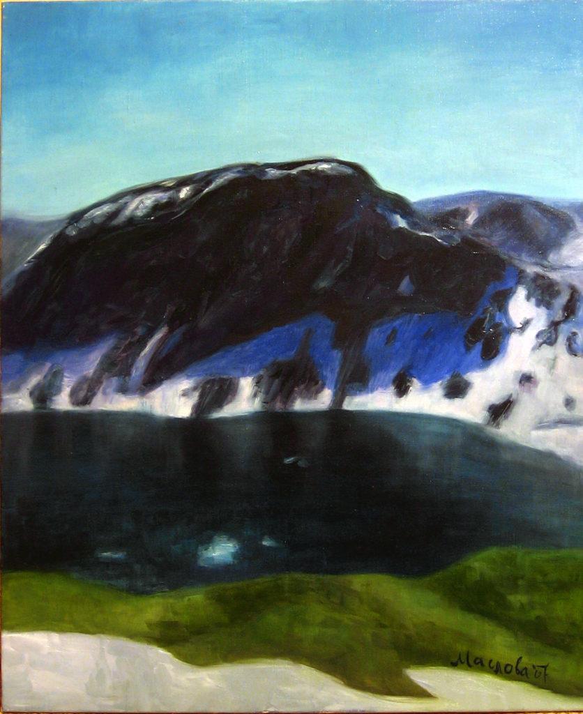 Скандинавія. Озеро під Далснібою